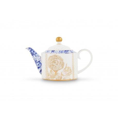 Čajová konvička Royal White