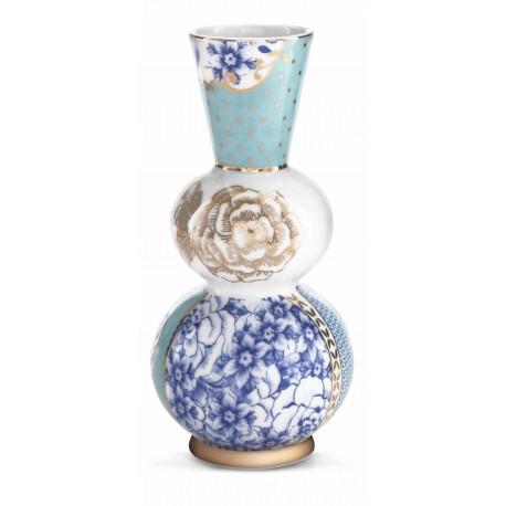 Pip Royal váza kulatá modrá