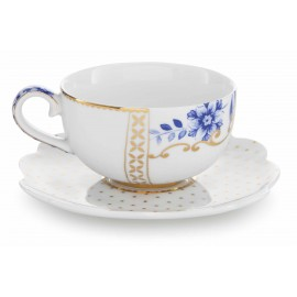 Pip Royal white espresso šálek s podšálkem