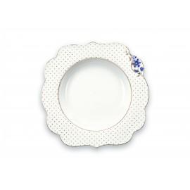 Polévkový talíř Royal White 23.5cm