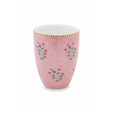 Pip studio Porcelánový kelímek Good morning, růžový