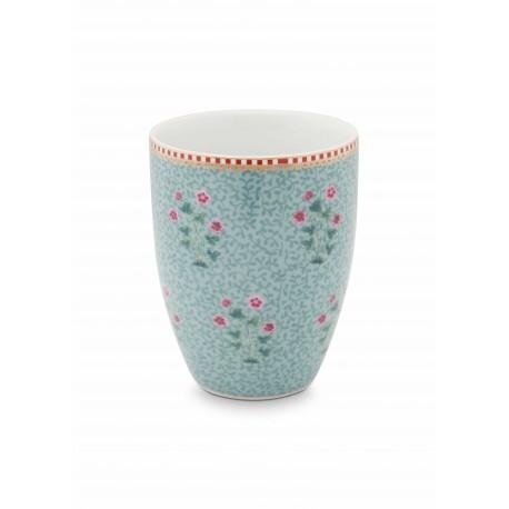 Pip studio Porcelánový kelímek Good morning, modrý