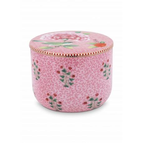 Porcelánová dóza Good morning, růžová