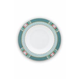 Polévkový talíř Blushing birds bílý 21,5 cm