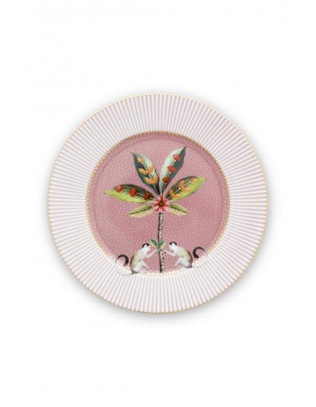 Pip studio Talíř La Majorelle 17 cm, růžový