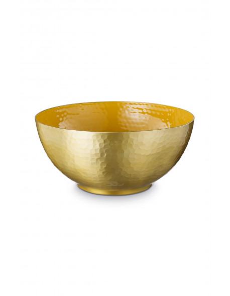 Glazovaná mísa žlutá 27 cm