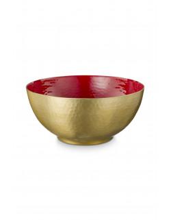 Glazovaná mísa červená 27 cm