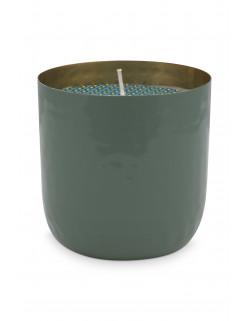Mistička se svíčkou zelená, 9 cm