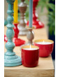 Mistička se svíčkou červená, 9 cm