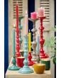 Mistička se svíčkou modrá, 11 cm