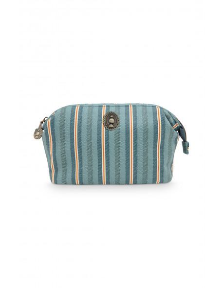 Pip studio Kosmetická taška S Blurred Lines, zelená