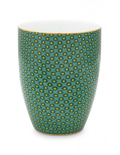 Pip studio Porcelánový kelímek Twinkle star 300ml, zelený