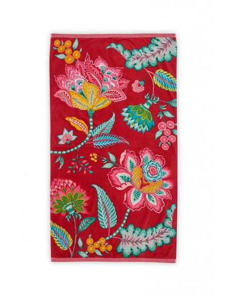 Plážový ručník Jambo červený 100x180 cm
