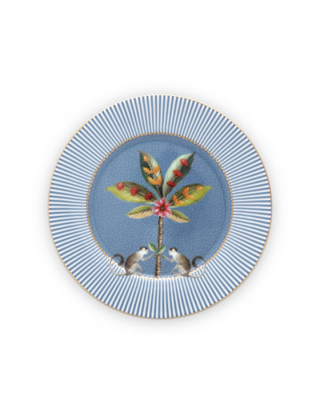 Pip studio Talíř La Majorelle 17 cm, modrý