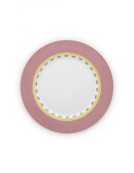 Pip studio Talíř La Majorelle 26,5 cm, růžový