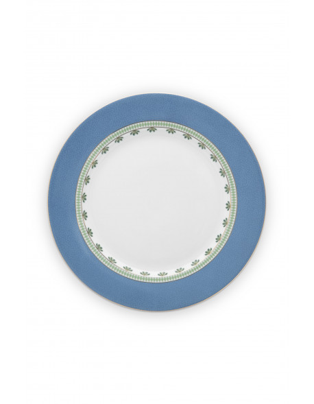 Pip studio Talíř La Majorelle 26,5 cm, modrý