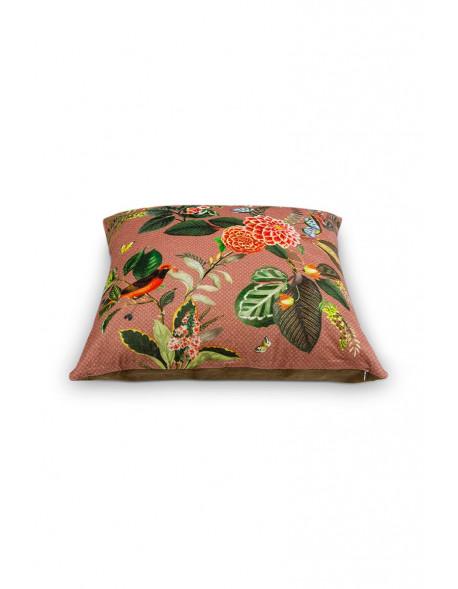 Pip studio dekorační polštář Floris 60x60 cm růžový