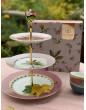 Pip Studio 3 patrový dortový podnos La Majorelle, růžový