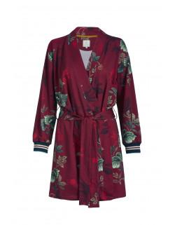 Pip studio Kimono Leafy Stitch červené
