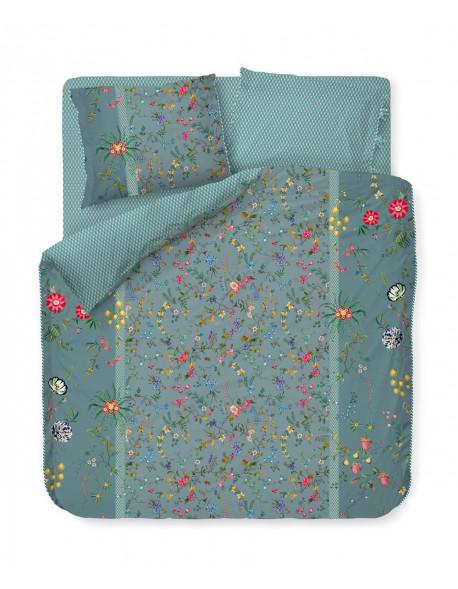 Pip studio luxusní povlečení Petites fleurs, modré