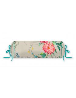 Pip studio polštář Fleur Grander 22x70 cm, bílý
