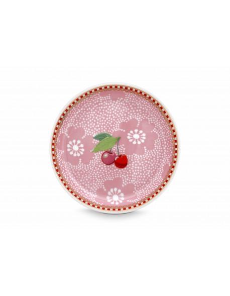 Pip studio Čajový podtácek Dotted Flower růžový