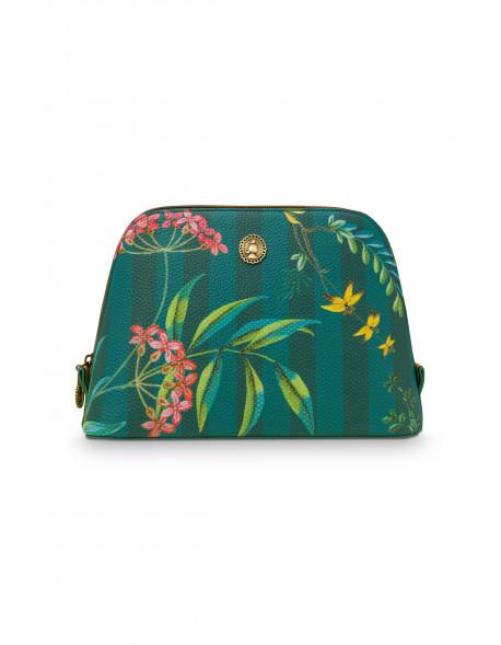 Pip studio Kosmetická taška Fleur Grandeur zelená M