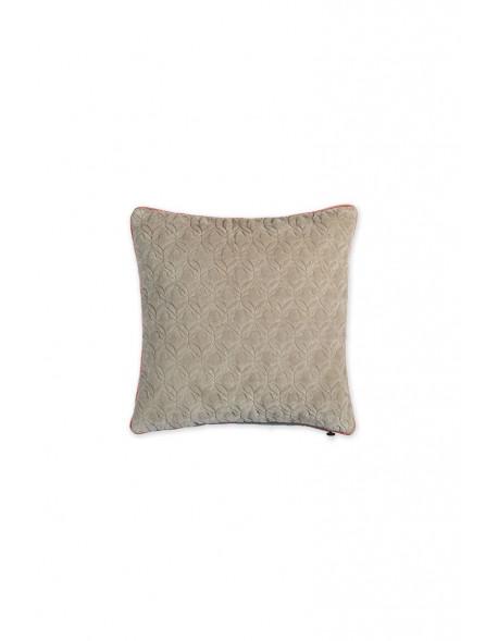Pip studio sametový polštář 45x45 cm, khaki