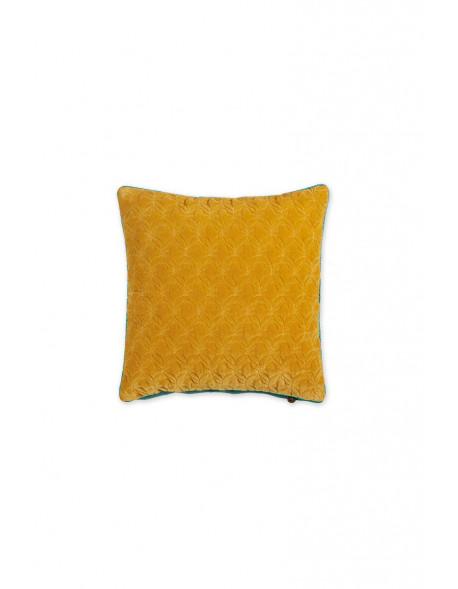 Pip studio sametový polštář 45x45 cm, žlutý