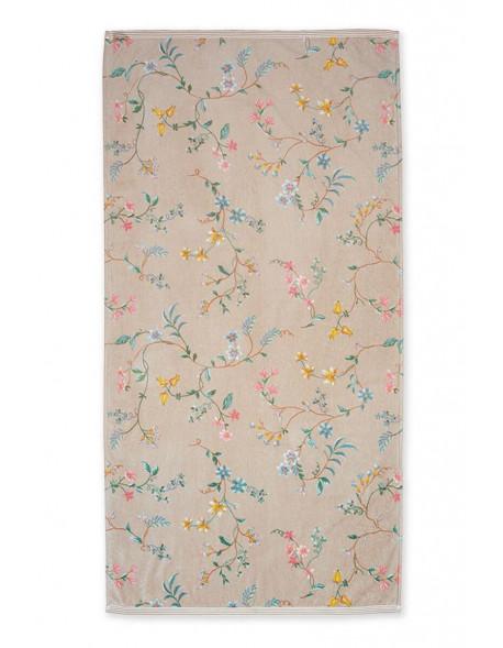 Pip studio ručník Les Fleurs, khaki