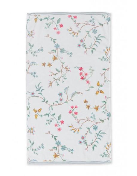 Pip studio ručník Les Fleurs, bílý