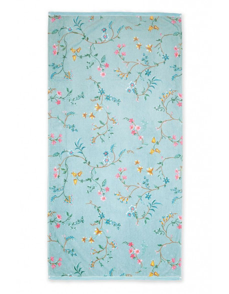 Pip studio ručník Les Fleurs, modrý