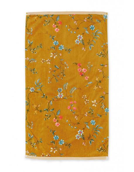 Pip studio ručník Les Fleurs, žlutý