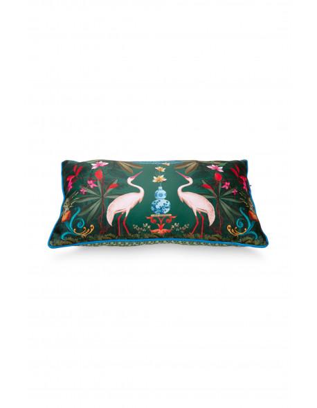 Pip studio dekorační polštář Heron Homage, zelený, 50x30 cm