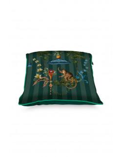 Pip studio polštář Singerie, zelený, 40x40 cm