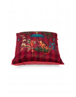 Pip studio polštář Singerie, červený, 40x40 cm