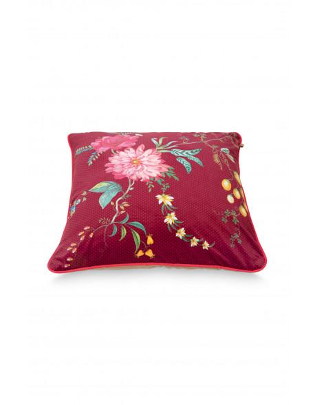 Pip studio dekorační polštář Fleur grandeur, 60x60 cm, červený