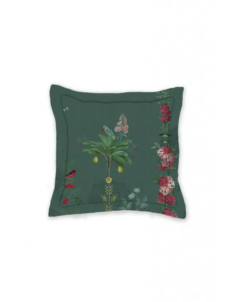Pip studio polštář Babylons garden 45*45 cm, zelený