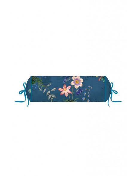 Pip studio polštář válec Chinese porcelain, 22x70 cm, tmavě modrý