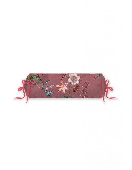 Pip studio polštář válec Chinese porcelain, 22x70 cm, růžový