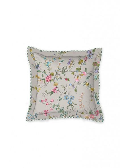 Pip studio polštář čtverec Petites fleurs, 45x45 cm, khaki