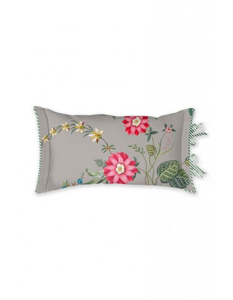 Pip studio polštář Petites fleurs, 35x60 cm, khaki