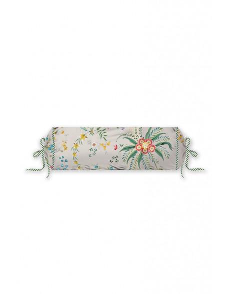 Pip studio polštář válec Petites fleurs, 22x70 cm, růžový