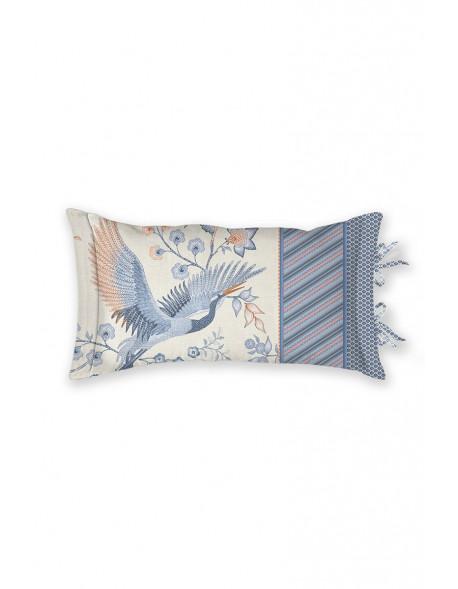 Pip studio polštář Royal birds, 35x60 cm, modrý