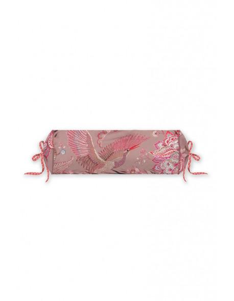 Pip studio polštář válec Royal birds, 22x70 cm, růžový