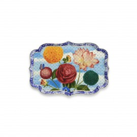 Tray Royal flowers - 26 cm